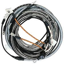 wiring harness kit (for 1 wire 12 volt alternator) southern parts Wiring Harness Diagram at 12 Volt Wiring Harness Kit
