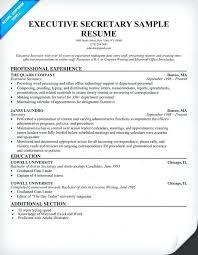 Secretary Resume Template Amazing Secretarial Resume Template Job Resume Secretary Resume Fresh