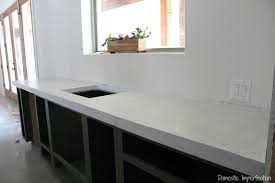 diy white concrete countertops a tutorial