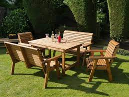 dales 1 35m rectangular garden table