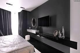 Schwarze Wand Schlafzimmer Hintergrund Design Ideen Youtube Avec Tv