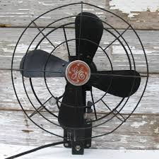 wall mounted oscillating fan vintage