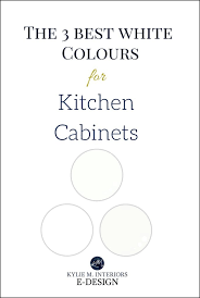 best white paint colours for painted kitchen or vanity cabinets trim ceilings kylie