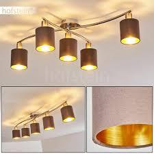 Lampe Dielen Flur Zimmer Ess Wohn Schlaf Decken Stoff Modern