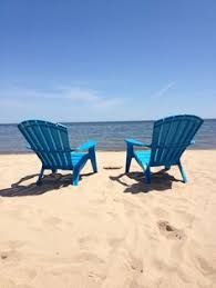 adirondack chairs on beach. Room For Two In E. Tawas, MI. Adirondack Chairs Adirondack Chairs On Beach
