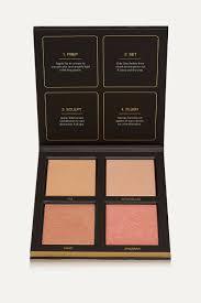 Brown 3D Highlighter Palette - <b>Golden Sands</b>   <b>Huda Beauty</b>   NET-A ...