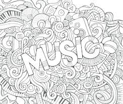 3d Coloring Pages Pdf Music Coloring Pages Music Coloring Sheets