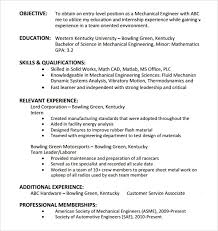 Basic Entry Level Resumes Sample Entry Level Resume 8 Documents In Pdf Word