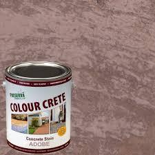Colour Crete 1 Gal Adobe Semi Transparent Water Based Exterior Concrete Stain
