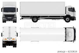 トラックのイラスト素材 6232819 Pixta