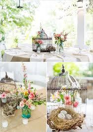 Decorating: Wedding Birdcage Table Centerpiece - Birdcage