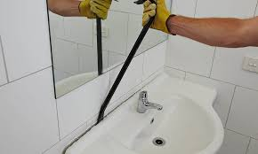 remove bathroom sink from wall
