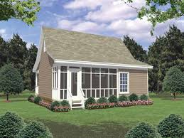small cottage plans with screened porch ideas