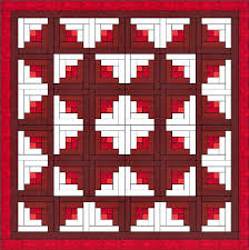 Log Cabin Quilt is One of the Easiest Quilt Blocks to Construct. &  Adamdwight.com