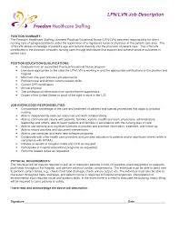 Lvn Resumes Lvn Resume Skills Resume Samples 9