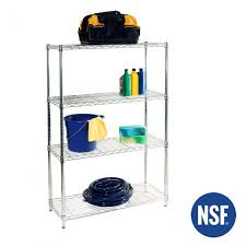 36 ultradurable commercial grade 4 tier nsf steel wire shelving seville classics