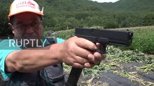 Laser Light To Scare Monkeys Planet Of Apes Farmers Use Air Guns To Scare Monkeys Away In Japan
