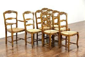 woven rush seat dining chairs ladderback rush seat dining chairs set of 8 country french carved oak antique dining chairs rush seats wood and rush dining