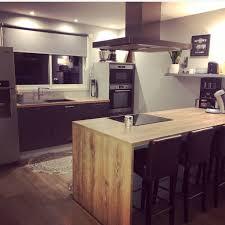 Cuisine Ixina Plan De Travail Imitation Bois My Home En 2019 Et