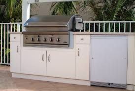 Outdoor Kitchen Cabinets Made With King Starboard St Seafoam King