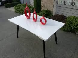 high gloss white dining table 1500x900mm