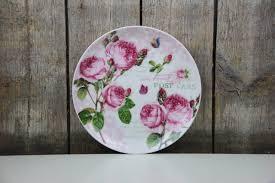 Dora Papis Design Easy Life Teller Dessertteller Romantic Roses Rosen By Dora Papis