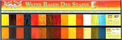 Saman Water Based Stain Color Chart Water Based Stain Colors Justfeatured Co