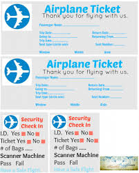 Play Ticket Template Untitled