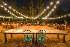 wedding lighting diy. Market Lights String In Backyard Wedding Outdoors Lighting Diy O