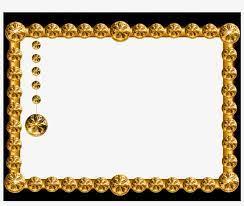 gold frames hd png transpa png