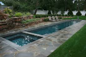 How long is a lap pool Backyard Traditional Pool By Lang Pools Inc Houzz Inspired By Olympic Swimming Feats Dive In With Lap Pool