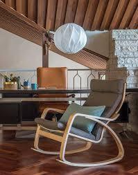 mid century modern chairs ikea. mid-century modern home | mad men style office ikea poäng rocking chair with mid century chairs ikea