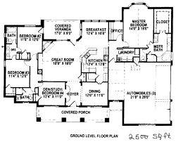 home architecture house plan square foot plans ireland homes fancy 2500 sq ft ranch