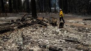The caldor fire started saturday and remained small until winds fueled its growth to about 10 square miles (26 square kilometers). U3uoi45g5posjm