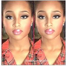 beautiful makeup for a caramel skin tone