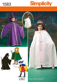 Halloween Costume Patterns Amazing Simplicity 48 Child's Caped Costume