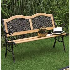 cast iron and wood garden bench bench design astounding iron and wood garden bench cast iron