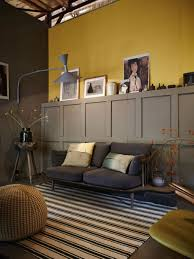 Mustard Living Room How To Decorate With Duluxs Colour Of The Year Cherished Gold
