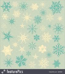 vintage snowflake background.  Vintage Vintage Background With Snowflakes RoyaltyFree Stock Illustration Snowflake