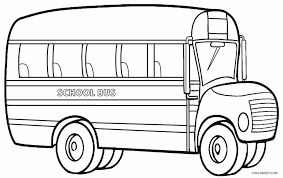 Small Picture Printable School Bus Coloring Page For Kids Cool2bKids