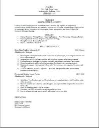 sample resume for administrative assistant position editorial assistant  resumes template objective for administrative resume for administrative