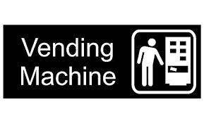 Vending Machine Sign Best ComplianceSigns Engraved Plastic Vending Machine Sign 48 X 48 In