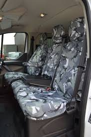 tailored front grey camo seat covers