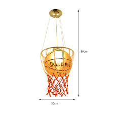 Pendelleuchten Kronleuchter Kinderzimmer Basketball