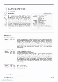 Phd Resume Format New Latex Resume Template Phd Best 32 Fresh Latex