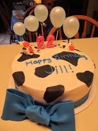 Cow Birthday Cake Cakecentralcom