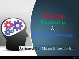 Thinking Reasoning Problem Solving Human Behavior