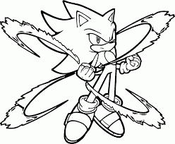 Small Picture Shadow The Hedgehog Coloring Page 21 Sonic The Hedgehog Coloring