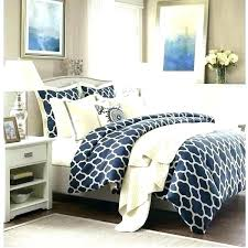 navy blue and white bedding comforter light excellent king sets sky uk