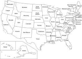 Us Map Coloring Pages Educational Coloring Pages Printable Maps
